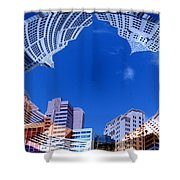Around New York Shower Curtain