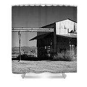 Around The Salton Sea Shower Curtain