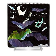 Arrangement In The Abstract 2 Shower Curtain