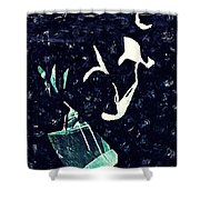 Arrangement In The Abstract Shower Curtain