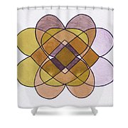 Arrangement Of Forms Shower Curtain