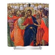 Arrest Of Christ Fragment 1311 Shower Curtain