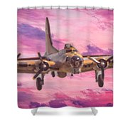 Arrival Of A Fortress Shower Curtain