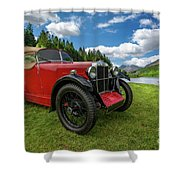 Arriving In Style Shower Curtain