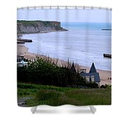 Arromanches-les-bain Shower Curtain