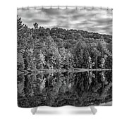 Arrowhead Provincial Park Bw Shower Curtain