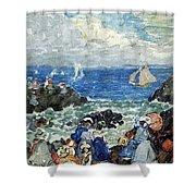 art 032 Maurice Prendergast Shower Curtain