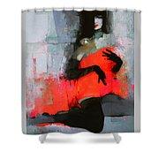 Art 5 Shower Curtain