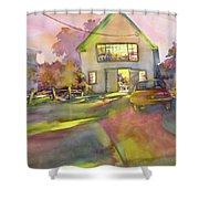 Art Barn, Port Clyde Shower Curtain