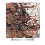Art Class Shower Curtain