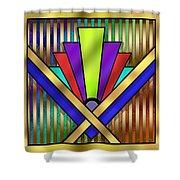 Art Deco 23 Shower Curtain