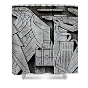 Art Deco 9 Shower Curtain by Andrew Fare