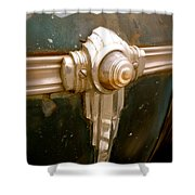 Art Deco Olds Trim Shower Curtain