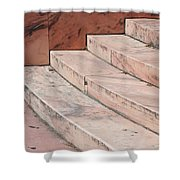 Art Deco Steps Shower Curtain
