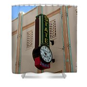 Art Deco Theatre Shower Curtain