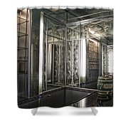 Art Deco Bar Vertical Shower Curtain