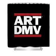 Art Dmv Shower Curtain