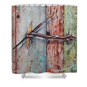 Art Hook Shower Curtain