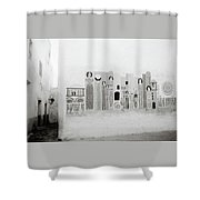 Art In The Casbah Shower Curtain