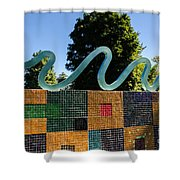 Art In The Park - Louis Armstrong Park - New Orleans Shower Curtain