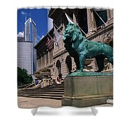 Art Institute Of Chicago Chicago Il Usa Shower Curtain