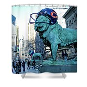 Art Institute Of Chicago Lions Shower Curtain