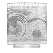 Art Is Healing By Sherri Of Palm Springs Shower Curtain