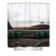 Art Love Shower Curtain
