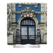 Art Nouveau In Riga Shower Curtain