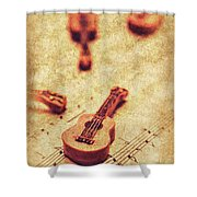 Art Of Classical Rock Shower Curtain
