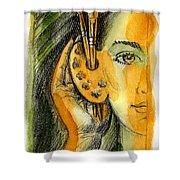 Art Of Listening Shower Curtain
