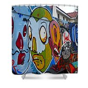 Art Of The Circus Shower Curtain