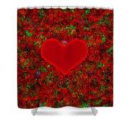 Art Of The Heart 2 Shower Curtain