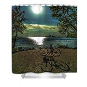 Art Of The Morning Sun Shower Curtain