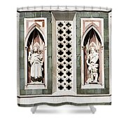 Art On Duomo In Florence Italy Shower Curtain