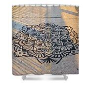 Art On Manhattan Bridge Shower Curtain