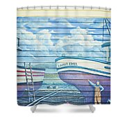 Art On The Bayfront 1 Shower Curtain