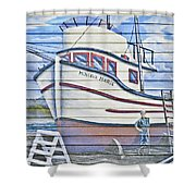 Art On The Bayfront 2 Shower Curtain
