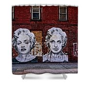Art On The Street Shower Curtain