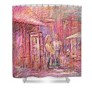 Art Show Shower Curtain