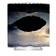 Art Sky Shower Curtain