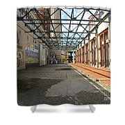 Art Space In Former Power Plant Shower Curtain