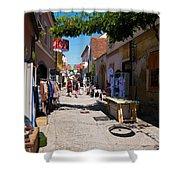 Art Street In Varazdin Shower Curtain