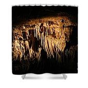 Art Underneath - Cave Shower Curtain