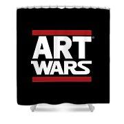 Art Wars Shower Curtain