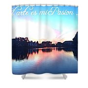 Arte Shower Curtain