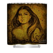 Artemis Who Shower Curtain