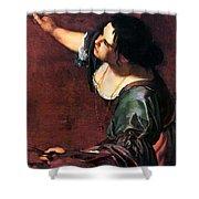 Artemisia Gentileschi Shower Curtain