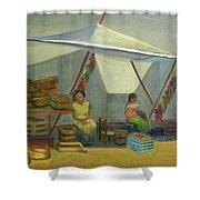 Artesanas Shower Curtain