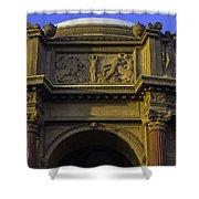 Artful Palace Of Fine Arts Shower Curtain